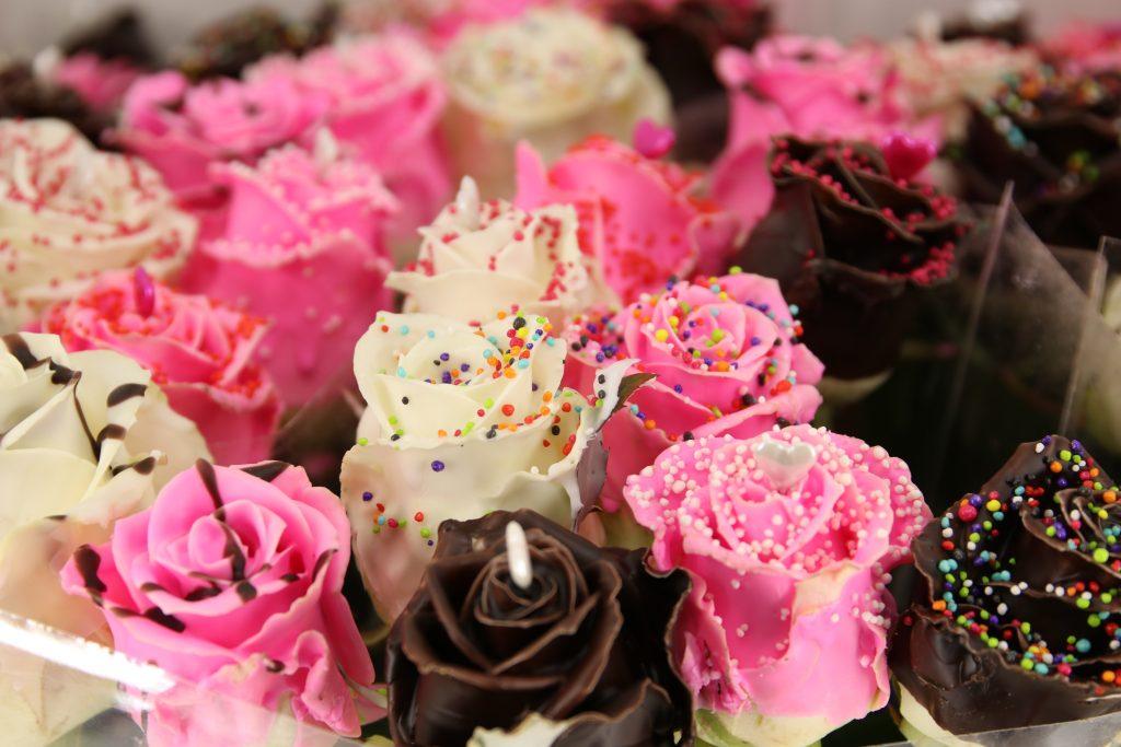 rosas cera san valentin