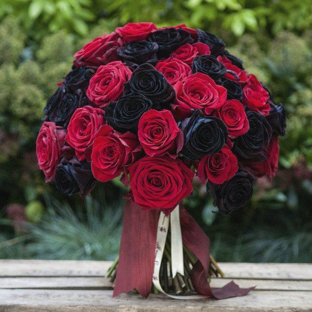 ramos rosas rojas
