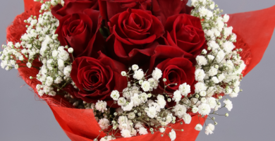 ramo rosas rojas san valentin