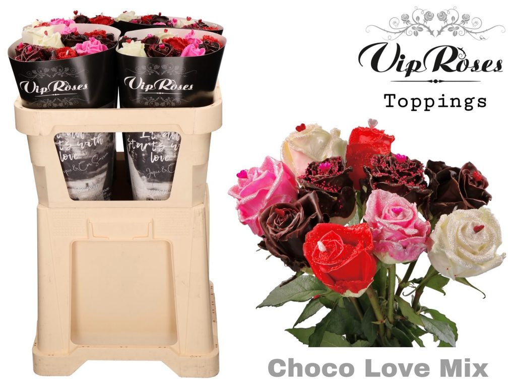 rosas choco love mix
